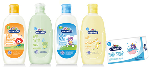 อุปกรณ์ทำความสะอาดสำหรับเด็ก